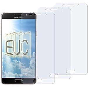 3 x Displayschutzfolie klar/wie unsichtbar für Samsung Galaxy A7 (2016)