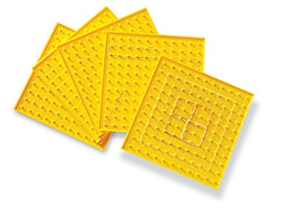 Learning Resources 11 x 11 Pin Geoboard Classpack (Set of 5) from Learning Resources