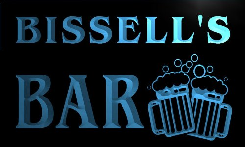 w006308-b-bissells-nom-accueil-bar-pub-beer-mugs-cheers-neon-sign-biere-enseigne-lumineuse