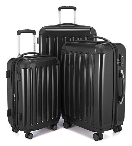 Hauptstadtkoffer Juego de maletas, negro (Negro) – 82780004