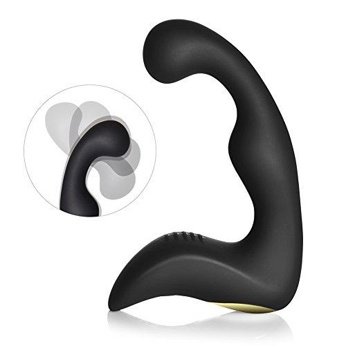 Utimi Prostata Vibrator Massagegerät 9 Stufen Anal Massage Wiederaufladbar G Punkt Vibrator mit 2 Motoren