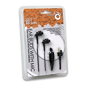 DSi/ DS Lite Ear Buds with Mic