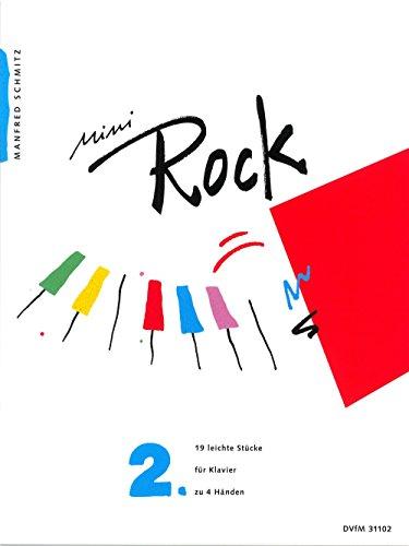 Preisvergleich Produktbild Mini-Rock für Klavier Heft 2: 19 leichte Stücke (DV 31102)