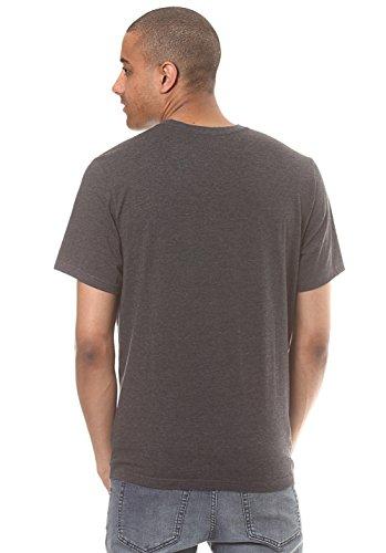 Element Basic Crew T-Shirt charcoal-h