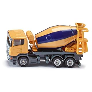 Siku Cement Mixer 1:87 Miniature Replica Toy Model Construction Machinery