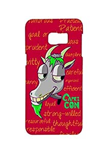 VDESI Designer Matte Back Cover For Samsung Galaxy Note 5 (N920T) - Capricorn (Red)