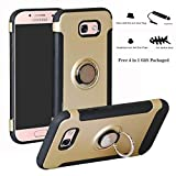 Labanema Galaxy A3 2017 Coque, 360 Degrés Rotation Ring Holder Stand Protection Etui...