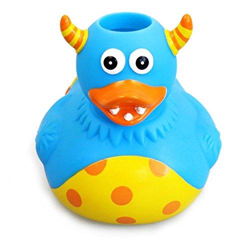 my toothie duck Monster-Ente Zahnbürstenhalter, Zahn Bürsten Halter, Kinder Bad Accessoire, 1010