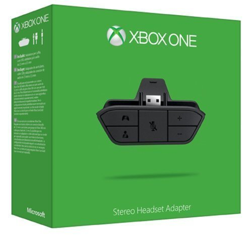 Price comparison product image Official Xbox One Stereo Headset Adapter for Xbox one. 6JV-00011