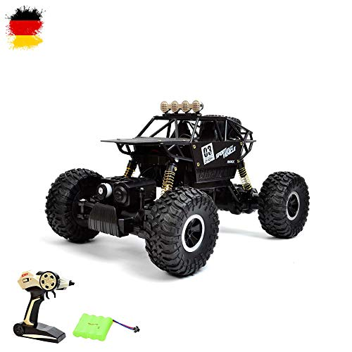 HSP Himoto 1:18 4WD RC Ferngesteuerter 2.4GHz Off-Road Crawler Cast Series Metall Chase Baukasten Kletterfahrzeug, Fahrzeug, Auto, Car, Truck, Racing 1:18 4WD 2.4Ghz RC Modellbau, Neu OVP -