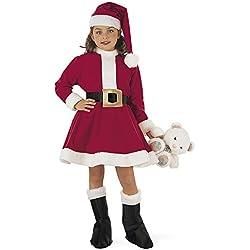 Limit Sport Disfraz de Mamá Noel para niña (MI241)