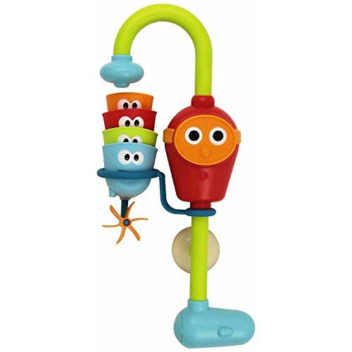 Rivenbert Wasserspiel Dusche Wasserspaß Spielzeug ? Drei stapelbare Cups und automatisierte Spout | Kinder by