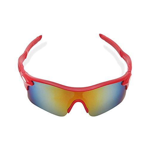 Aili occhiali da sole sportivi con uv400 per uomini donne esterni sport pesca ski driving golf corsa ciclismo campeggio,d