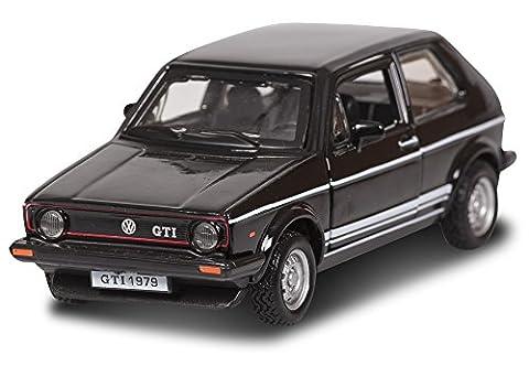 VW Volkswagen Golf 1 GTI Schwarz 3 Türer 1974-1983 1/32 Bburago Modell Auto mit individiuellem