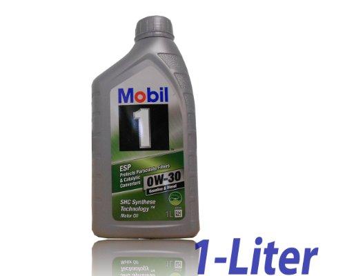 Mobil 1 ESP 0W-30 Motoröl ACEA C2,C3 Freigegeben gem. MB Approval 229.31./229.51/229.52