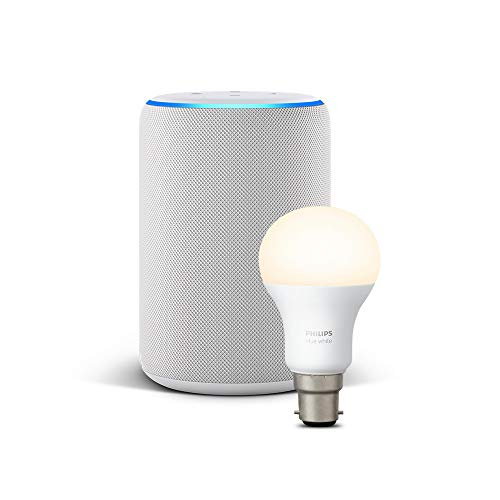 All-new Echo Plus (2nd Gen), Sandstone + Philips Hue White bulb B22