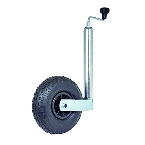 Carpoint 0410203 Trailer Jack 48mm with Pneumatic tyre 260x85mm Test