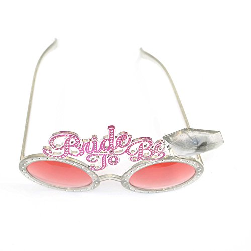 6f849720ac9 Bride To Be Glasses Hen Party Novelty Accessories Fancy Dress Hen Night-Fun  for a hen party – Party Glasses