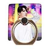 Skisneostype BTS Phone Holder New Album 'MAP of The Soul : Persona' Cartoon Photo Ring Holder Stand 360° Rotation for for iPhone, iPad, Other Smartphones(H11)
