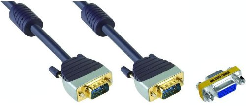 DIGITUS Bandridge SCL 1102(2m) VGA 15Pin (HD) Stecker auf VGA 15-Pin (HD) Stecker 2m in Länge - Englisch-1102