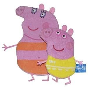 Gants de toilette Peppa Pig et George