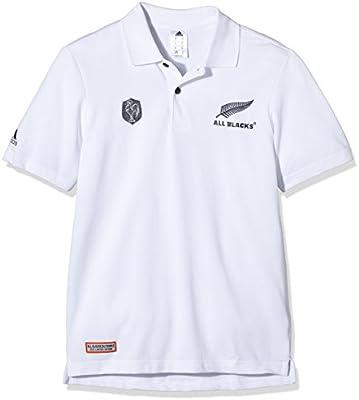 adidas XV de Francia All Blacks Polo de manga corta para hombre