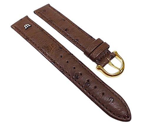 maurice-lacroix-ersatzband-uhrenarmband-straussenleder-band-dunkelbraun-22630g-stegbreite18mm