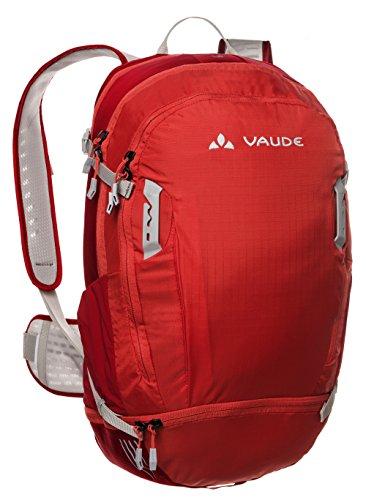 VAUDE Mochila - Bike Alpin 25+5 - Indian rojo 11943 - con 2,0L sistema de hidratación - Modelo 2015