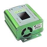 Delicacydex Regolatore di carica regolatore batteria a pannello solare MPPT con display LCD a colori 48V 10A con funzione di carica boost DC-DC