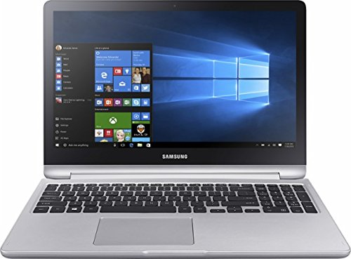 Samsung Spin 2-in-1 Touchscreen Flagship 15.6 inch Full HD Gaming Laptop PC, Intel Core i7-7500U, NVIDIA GeForce 940MX Graphics, 16GB RAM, 1TB HDD, HDMI, 1 USB Type-C, Windows 10 image