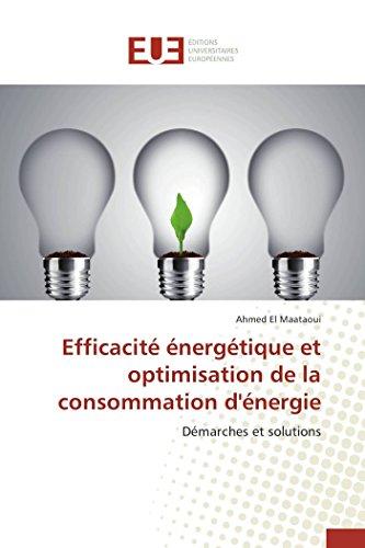 Efficacité énergétique et optimisation de la consommation d'énergie par El Maataoui-A