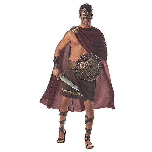 Aptafêtes–cs929609/XL–Kostüm–Cape mit Medaillon/Rock mit Gürtel/Paar Armstulpen–Größe (China Kostüm Antike)
