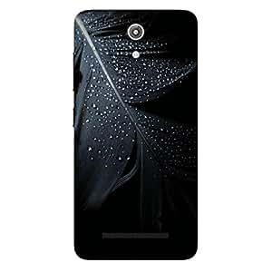 GripIt Black Feather Case for Asus Zenfone Go