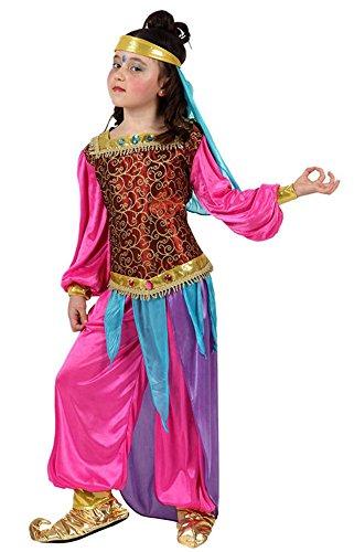 Disfraz de bailarina árabe rosa t-4