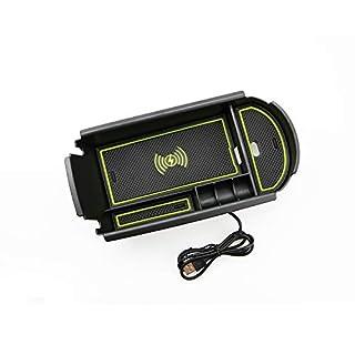 LFOTPP Handy kabelloses Laden Zentralarmlehne Aufbewahrungsbox Autozubehör für C-HR