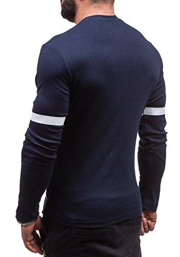 BOLF - Sweat-shirt - Maglione sportivo - con la stampa – COMEOR 4634 - Uomo Blu scuro