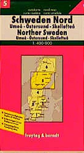 Freytag Berndt Autokarten, Schweden Nord (freytag & berndt Auto + Freizeitkarten): Alle Infos bei Amazon