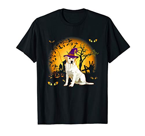 Lustiges Labrador Retriever Halloween Kostüm Tee - Hausgemachte Skelett Kostüm