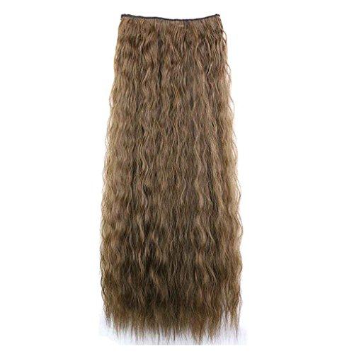 Babysbreath Lockiges langes Haar-nahtlose Verlängerung Haarteil-Pferdeschwanz-Perücken für Mädchen (Kostüm Y Mas Menos)