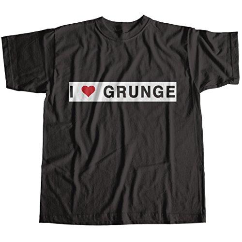 I Love Grunge Worn by Eddie Vedder T-Shirt (Ideen Shirt Rave)