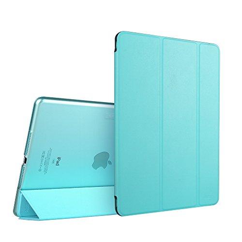 Custodia iPad Air 2 Smart Case Cover,ESR Clear Shell posteriore risveglio automaticamente / funzione di sonno per iPad Air