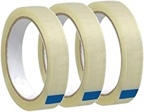Wonder Best Quality 1 Inch 65mtrs Cello Tape (Transparent) Pack of 3