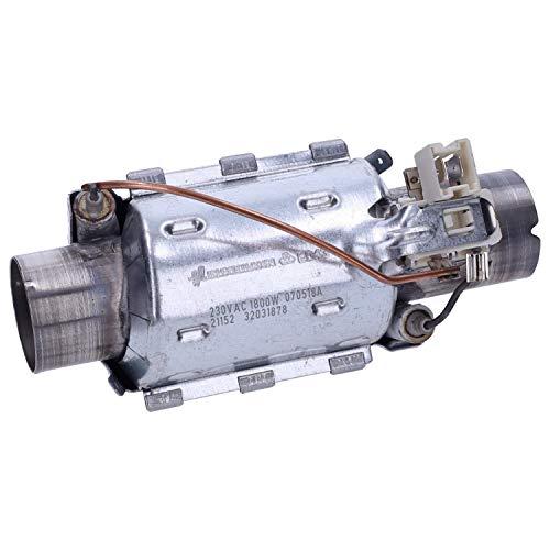 Heizelement Heizung Durchlauferhitzer 1800W Spülmaschine Beko DIN26221
