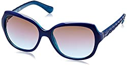 Vogue Gradient Square WomenS Sunglasses - (0Vo2871S23834856 56. 1 Azure Grad Pink Grad Brown)