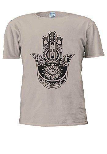 NisabellaLTD -  T-shirt - Maniche corte  - Uomo .Sand Large
