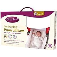 Clevamama ClevaFoam Pram Pillow, Cream