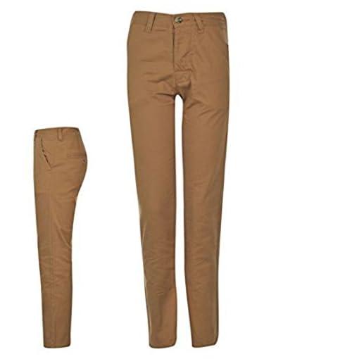 Kangol-Kids-Children-Juniors-Chino-Khaki-Casual-Everyday-Trousers-Jeans-Pants