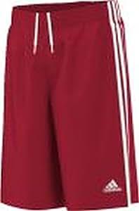 adidas Y Commander S Short pour Homme, Rouge/Blanc, 116