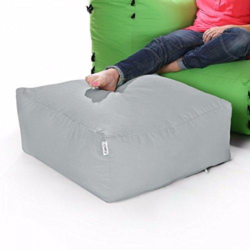 Sacchi di fagioli divano ad angolo modulari - pouf solo disco di platino