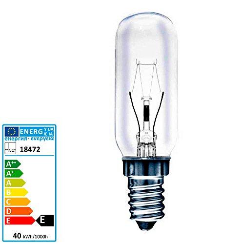 Müller Licht Röhrenlampe Dunstabzug E14 230 Volt 40 Watt klar Größe 4